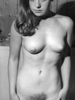 Vintage retro nude girl everything, and